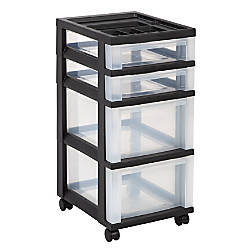 Luxury Plastic File Cabinet On Wheels