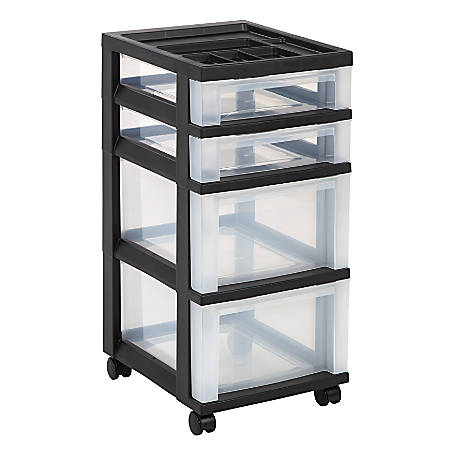 Office Depot Brand Plastic Storage Cart