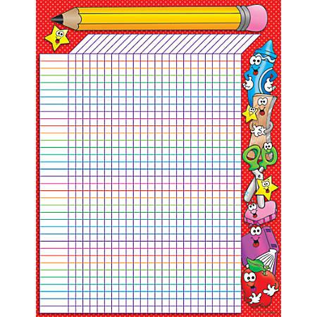 "Scholastic Practice Chart, School Time Incentive, 17"" x 22"""