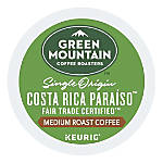 Green Mountain Coffee® Costa Rica Paraíso Single-Serve K-Cup®, 6.9 Oz, Carton Of 24