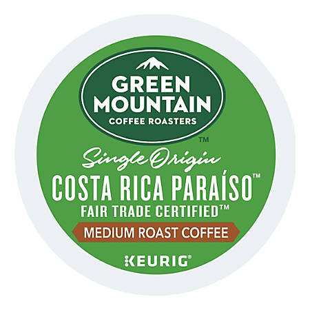 Green Mountain Coffee® Costa Rica Paraíso K-Cup® Pods, 6.9 Oz, Pack Of 24 Pods