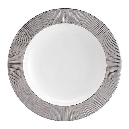 Zuo Modern Plato Large Wall Décor, Silver/White