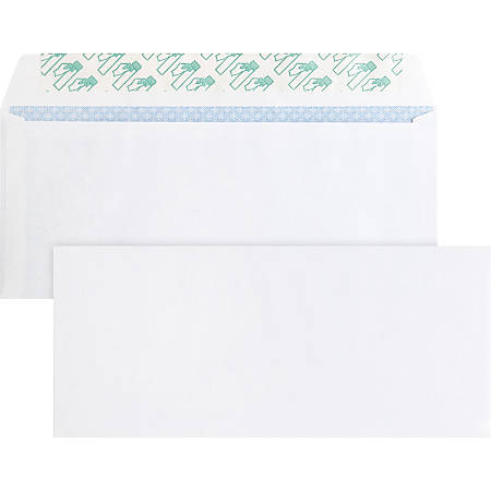 "Business Source Regular Tint Peel/Seal Envelopes - Business - #10 - 9 1/2"" Width x 4 1/8"" Length - 24 lb - Peel & Seal - Wove - 500 / Box - White"