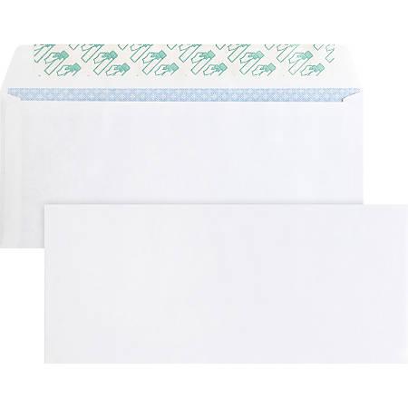 "Business Source Regular Tint Peel/Seal Envelopes - Business - #10 - 9 1/2"" Width x 4 1/8"" Length - 24 lb - Peel & Seal - Wove - 500 / Box - White"
