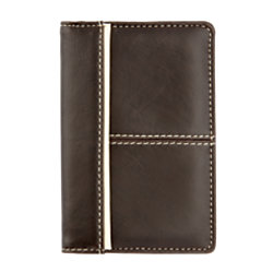 Foray business card wallet brown by office depot officemax foray business card wallet brown reheart Image collections
