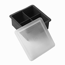 American Metalcraft Silicone Ice Mold Black