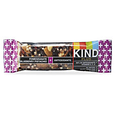 KIND Snack Bars Pomegranate Blueberry Pistachio