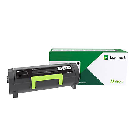 Lexmark™ Unison 56F0H0G High-Yield Return Program Black Toner Cartridge