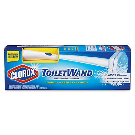 Clorox ToiletWand Disposable Toilet Cleaning System - 6 / Carton