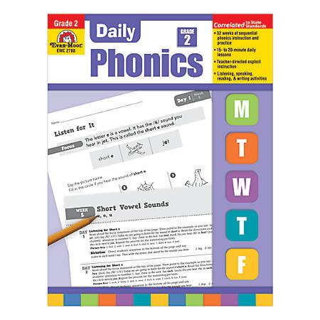 Evan-Moor® Daily Phonics Practice Grade 2