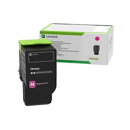 Lexmark™ 78C1UME Ultra-High-Yield Magenta Toner Cartridge