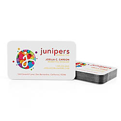 Color Core Business Cards 1 Sided