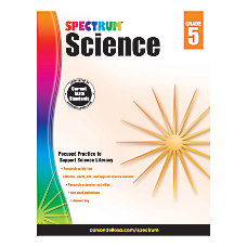 Carson Dellosa Spectrum Science Workbook Grade