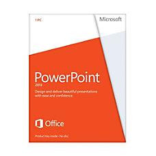 Microsoft PowerPoint 2013 3264 bit License