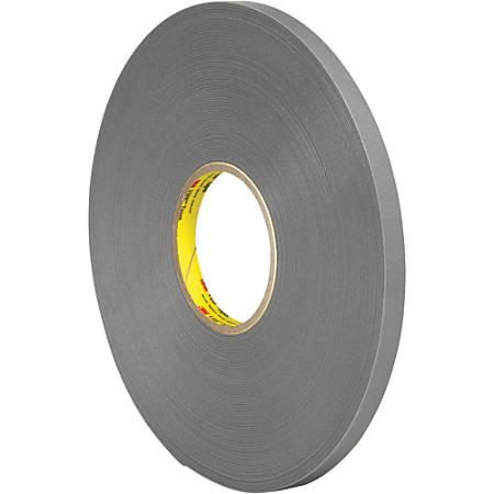 """3M™ VHB™ 4943F Tape, 1.5"""" Core, 0.5"""" x 5 Yd., Gray"""
