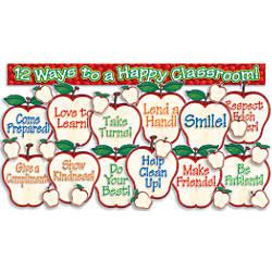 Scholastic Apples Bulletin Board Set 18