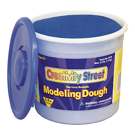 Creativity Street Modeling Dough, 3.3 Lb, Blue