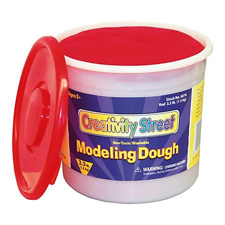 Creativity Street Modeling Dough, 3.3 Lb, Red