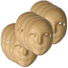 ChenilleKraft Paper Mache Masks Decoration 8