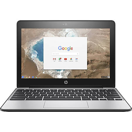 "HP Chromebook 11 G5 Laptop, 11.6"" Screen, Intel Celeron N3060, 4 GB Memory, 16 GB Hard Drive, Chrome OS"