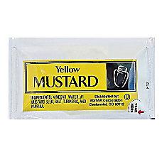 Vistar Mustard Single Serve Packets 016