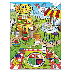 ChenilleKraft Land of Nutrition Giant Puzzle
