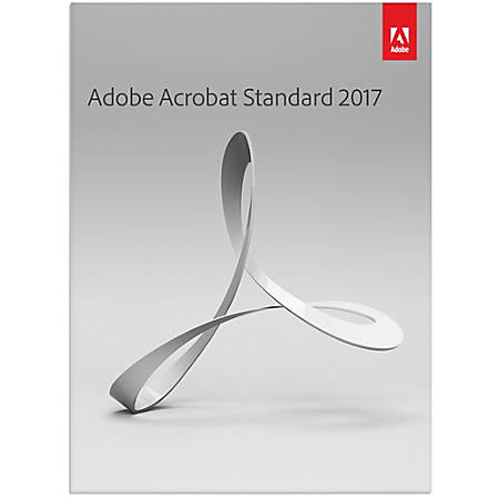 Adobe Acrobat Standard 2017, Download Version