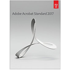 Adobe Acrobat Standard 2017 Download Version