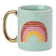 Office Depot Ceramic Rainbow Mug 8