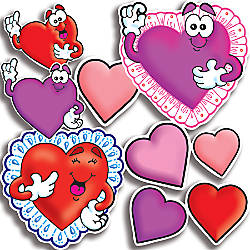 Scholastic Bulletin Board Accents Valentines 9