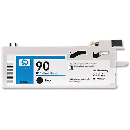 HP C5096A 90 Black Printhead Cleaner - For Printer - 1 Each Item # 552892