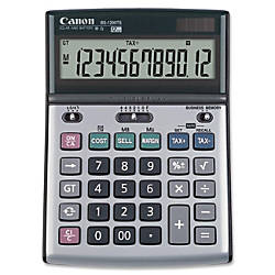 Canon BS1200TS Desktop Calculator Metal Cover