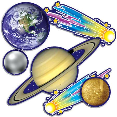 "Scholastic Bulletin Board Accents, Solar System, 9"" x 24"""