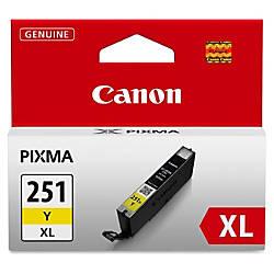 Canon CLI 251XL High Yield Yellow