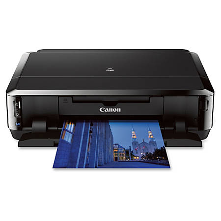 Canon PIXMA iP7220 Inkjet Printer - Color - 9600 x 2400 dpi Print - Photo/Disc Print - Desktop - 15 ipm Mono Print / 10 ipm Color Print (ISO) - 21 Second Photo - Automatic Duplex Print - Wireless LAN - USB