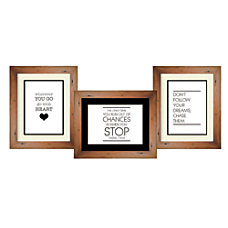 PTM Images Photo Frame Trio Collage