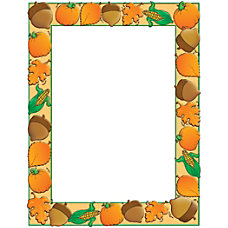 Scholastic Colorful Design Paper Autumn Harvest