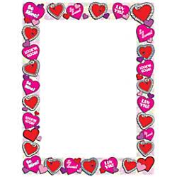 Scholastic Colorful Design Paper Valentines 8