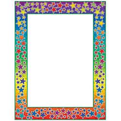 Scholastic Colorful Design Paper Rainbow Stars