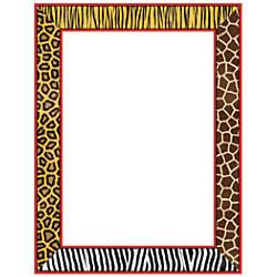 Scholastic Colorful Design Paper Safari 8