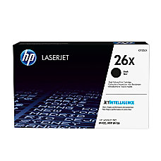 HP 26X High Yield Black Toner