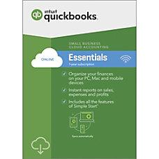 QuickBooks Online Essentials 2019 For PC