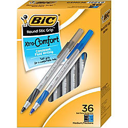 BIC Round Stic Grip Xtra Comfort