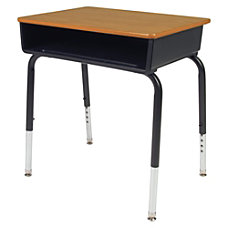 Lorell Classroom Student Book Box Desk