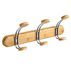 Safco Bamboo Wall Coat Rack 3