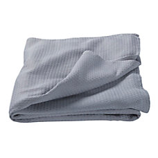 Lewis N Clark Packable Blanket Gray