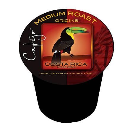 Cafejo® Costa Rica Single Serve Cups, 0.5 Oz, Box Of 24