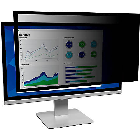 "3M™ Framed Privacy Filter Screen for Monitors, 18.5"" Widescreen (16:9), PF185W9F"