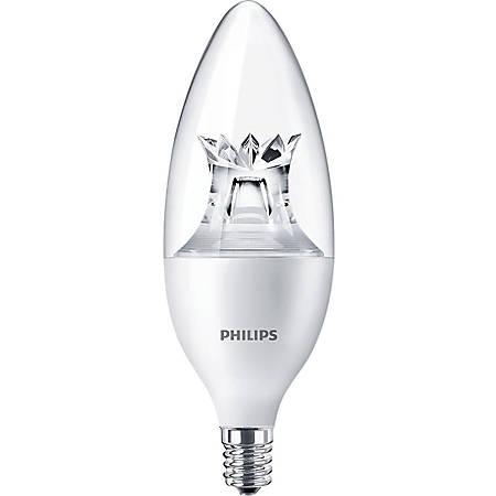 Philips hue Soft White Candle-Shaped Smart LED Light Bulb