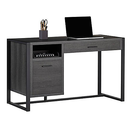 Realspace® DeJori Writing Desk, Charcoal